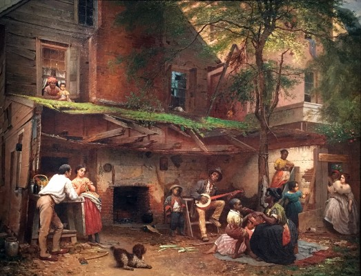 Eastman Johnson Negro Life at the South