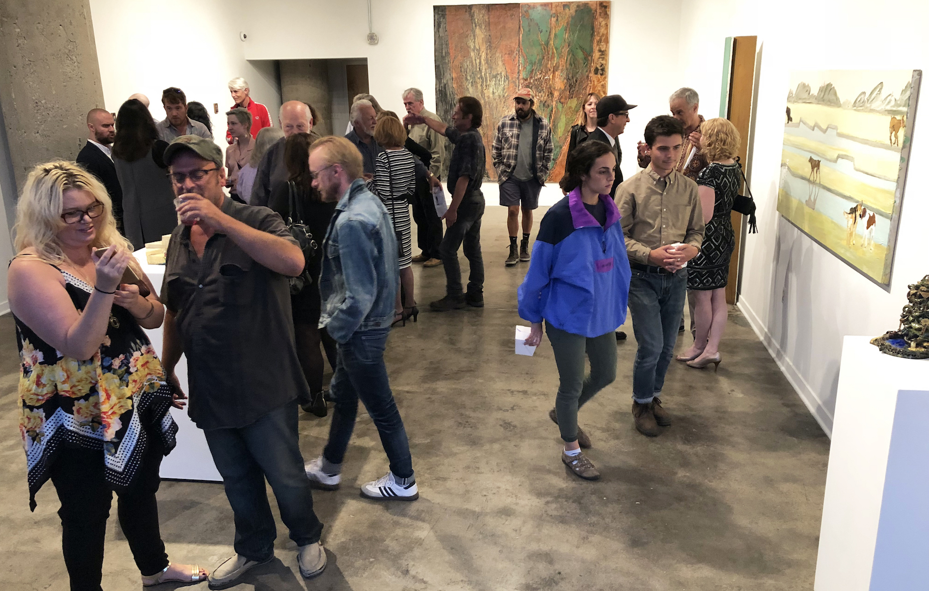 Cass Corridor, Connecting Times: Brenda Goodman, Kathryn Bracket Luchs, Ann  Mikolowski, Nancy Mitchnick, Ellen Phelan, And Nancy Pletos. Image DAR